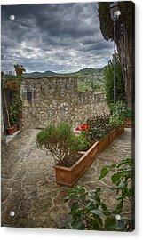 Montefioralle Tuscany 4 Acrylic Print