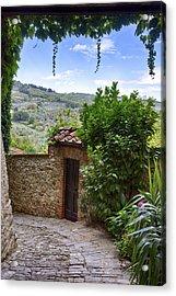 Montefioralle, Tuscany Acrylic Print