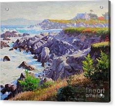 Monteray Bay Morning 1 Acrylic Print by Gary Kim