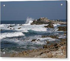 Monterey Coastline Acrylic Print