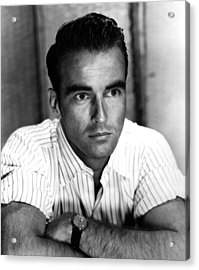 Montgomery Clift, Ca 1953 Acrylic Print
