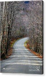 Montgomery Mountain Rd. Acrylic Print