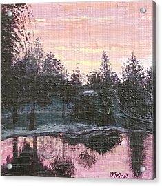 Montgomery Pond Acrylic Print