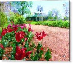Monticello Acrylic Print