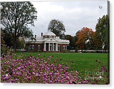 Acrylic Print featuring the photograph Monticello by Eric Liller