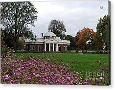 Monticello Acrylic Print by Eric Liller