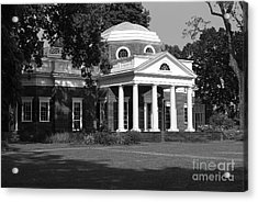 Acrylic Print featuring the photograph Monticello IIi by Eric Liller