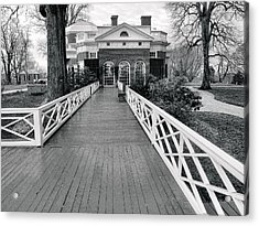 Monticello IIi Acrylic Print by Steven Ainsworth