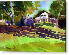 Monticello In October Acrylic Print by Lee Klingenberg