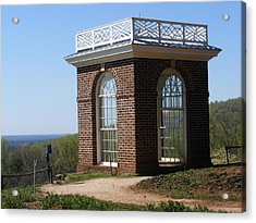 Monticello's Overlook Acrylic Print by James and Vickie Rankin