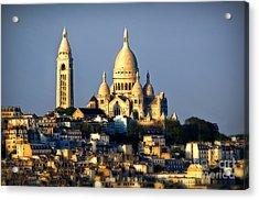 Montmartre Acrylic Print by Alessandro Giorgi Art Photography
