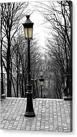 Montmartre Acrylic Print by Diana Haronis