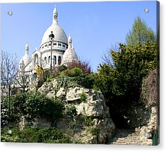 Montmartre Acrylic Print by Hans Jankowski