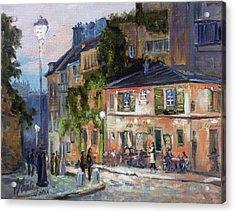 Montmartre, Paris Acrylic Print