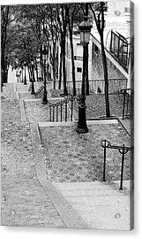 Montmartre Stairway Paris Acrylic Print