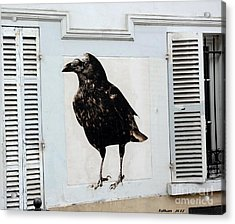 Montmartre's Raven By Taikan Acrylic Print