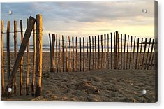 Montpellier France Beach  Acrylic Print by Beryllium Photography