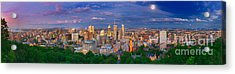 Montreal At Night Acrylic Print