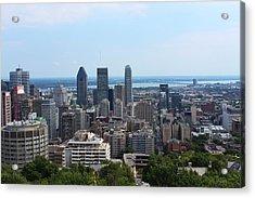 Montreal Cityscape Acrylic Print