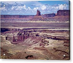 Monument Basin, Canyonlands Acrylic Print