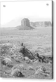 Monument In A Higher Key Acrylic Print by Joseph Smith