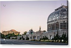 Monument Museum And Garden Acrylic Print by Greg Mimbs