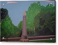 Monument Of The Revolutionary War Of 1776 Acrylic Print by William Demboski