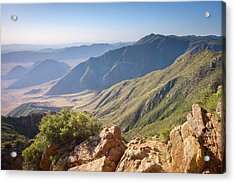 Acrylic Print featuring the photograph Monument Peak View 1 by Alexander Kunz