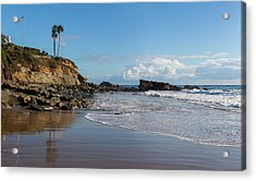Acrylic Print featuring the photograph Monument Point At Low Tide by Cliff Wassmann