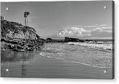 Acrylic Print featuring the photograph Monument Point Laguna Beach by Cliff Wassmann
