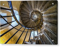 Monument Stairs Acrylic Print by Jae Mishra