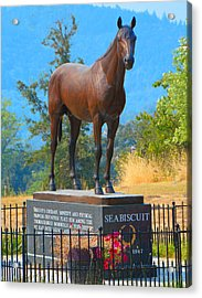 Monument To Seabiscuit Acrylic Print