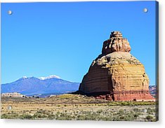Monument To Time Acrylic Print