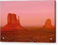 Monument Valley  --  The Mittens  Acrylic Print