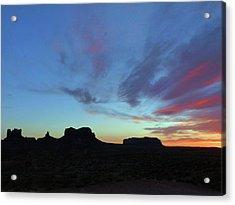Monument Valley 2016 11 Acrylic Print by Jeff Brunton