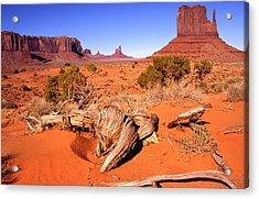 Monument Valley, Arizona, U S A Acrylic Print