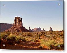 Monument Valley Calm Acrylic Print by Gordon Beck