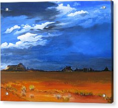 Monument Valley Clouds Acrylic Print