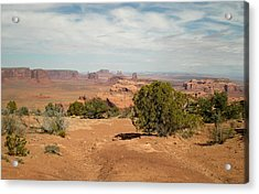 Acrylic Print featuring the photograph Monument Valley by Fred Wilson