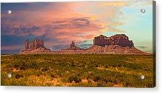Monument Valley Landscape Vista Acrylic Print
