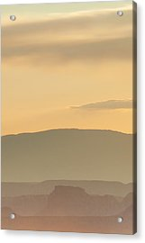 Monument Valley Layers Acrylic Print by Az Jackson
