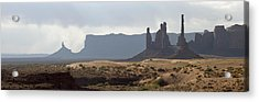 Monument Valley Acrylic Print by Mike Irwin