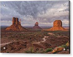 Monument Valley Mittens Az Dsc03662 Acrylic Print