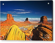 Monument Valley Mittens Utah Usa Acrylic Print