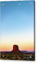 Monument Valley Morning Glory Acrylic Print