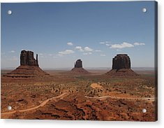 Acrylic Print featuring the photograph Monument Valley Navajo Park by Christopher Kirby
