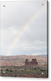 Monument Valley Rainbow Acrylic Print