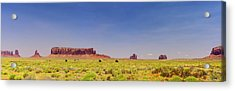 Monument Valley South View Acrylic Print