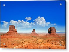Monument Vally Buttes Acrylic Print