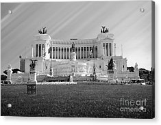 Monumental Architecture In Rome Acrylic Print